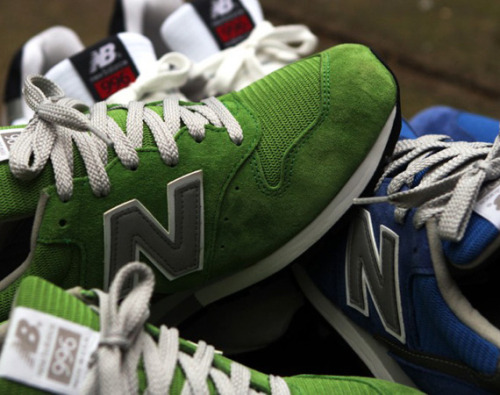 "honeyanddeath:  NEW BALANCE M996 – ""COLOR"" PACK 紫もあって、どれも良い色。"