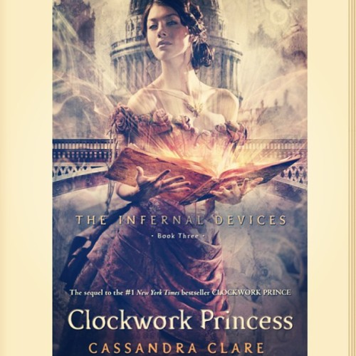 Ohoy! #clockworkprincess #ibooks #instabooks #tid #theinfernaldevices