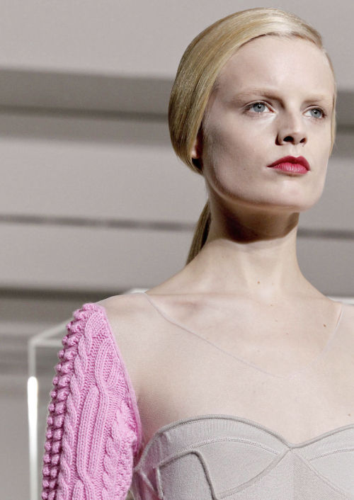 Hanne Gaby Odiele at Jil sander fall/winter 2012
