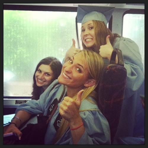 On the bus to Radio City Music Hall to graduate!!!! #wtf #wtf #wtf