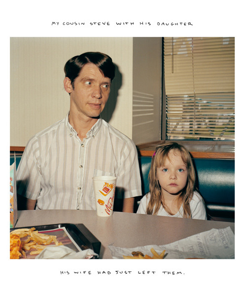 Steve and his Daughter, Galesburg, Illinois, Knox County, 1991 — Chris Verene