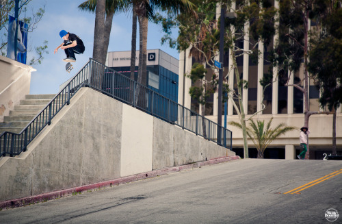 NICK MERLINO KICKFLIP LONG BEACH, CA