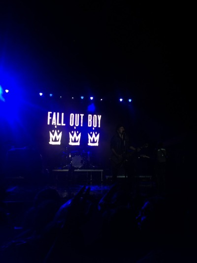 Saw fall out boy at skate and surf yesterday, it was fucking amazing!