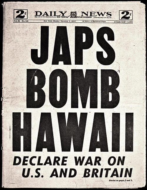 "nevver:  Infamy  Pearl Harbor, 7 de diciembre de 1941. ""I had never known that blood could be so bright red"". Una crónica del ataque que nunca fue publicada."