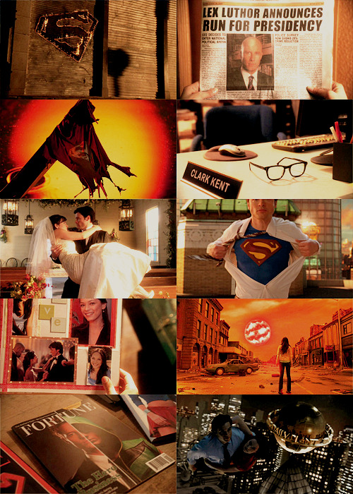 I love tv series -> Smallville