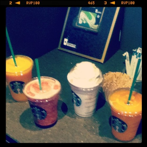 Starbucks Coffee #starbuckscoffe #starbucks #vanilla #strawberry #raspberry #mango