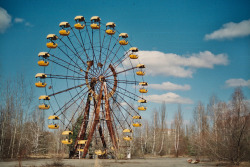 culture-keeper:  Pripyat, ghost town near Chernobyl, Ukraine