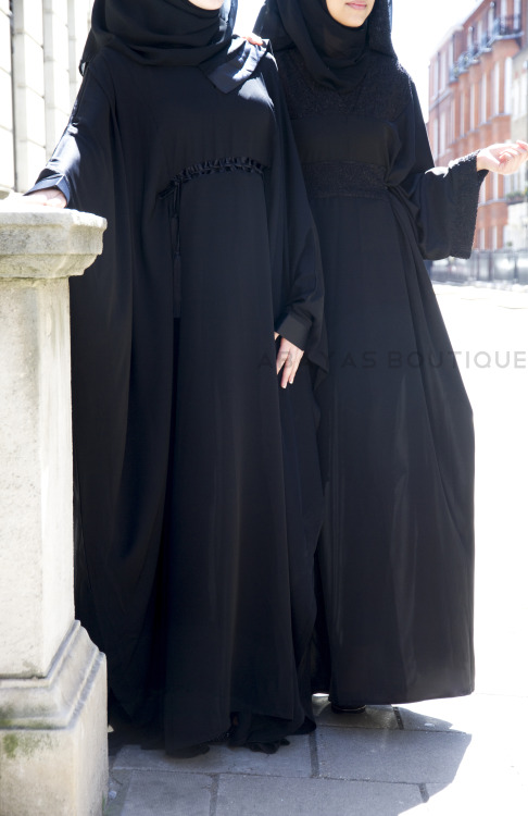 wwags-modeblog:  Another one of our great captions from the Abayas Boutique shoot