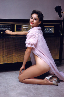 Elizabeth Ann Roberts; Playboy's Playmate of the Month, January 1958. Elizabeth was only 16 when her photos for Playboy were taken. Apparently, her mom had given written permission for her to pose. But this didn't prevent the mother and Hugh Hefner from being arrested, though charges were eventually dropped.