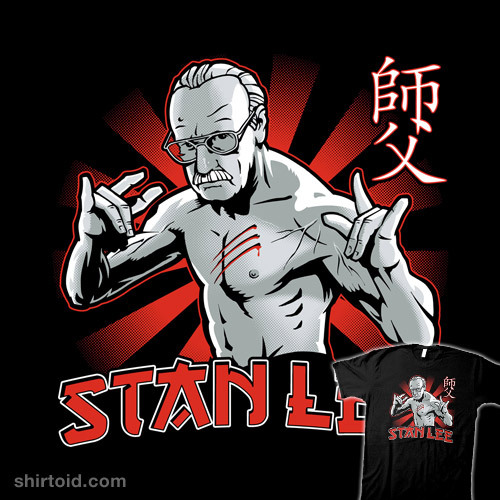 shirtoid:  Stan the Master by Captain RibMan is $10 today only (5/17) at Shirt Punch
