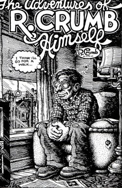 booksbyheart:  R. Crumb on longing for a mid-way walk.  Walking and its relation to creativity is the subject of our series this week. Read Mohsin Hamid's thoughts in The Atlantic.