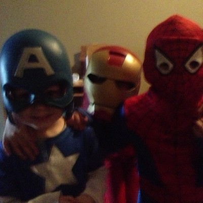 My very own super heroes!