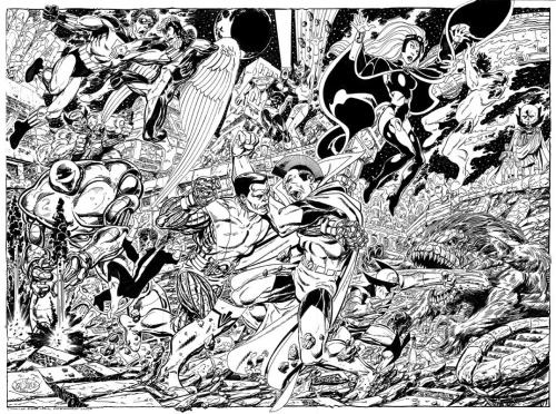 X-Men vs The Imperial Guard By John Byrne