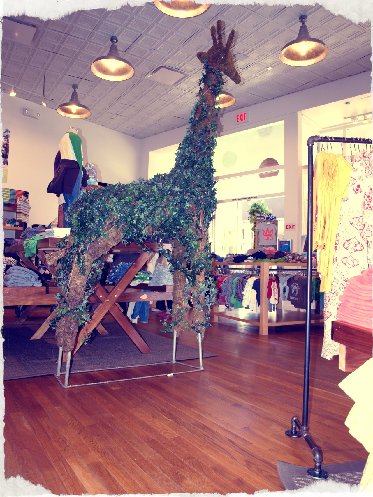 Sophie the Giraffe at our Corte Madera store.