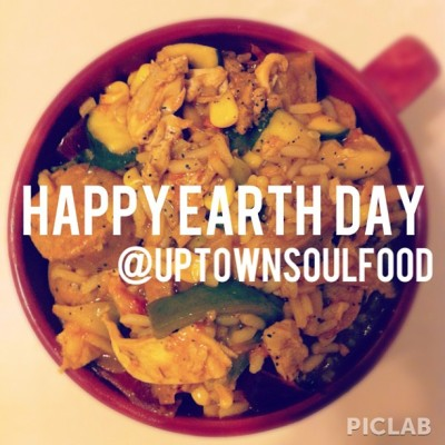 Uptown Soul Food wishes you a happy, healthy , plant-based Earth Day!! Go Veg!! 🌍🍴Edited with @piclabapp! #piclab #vegan #earthday #whatveganseat #food #healthy #fitness #vegansofig #vegetarian