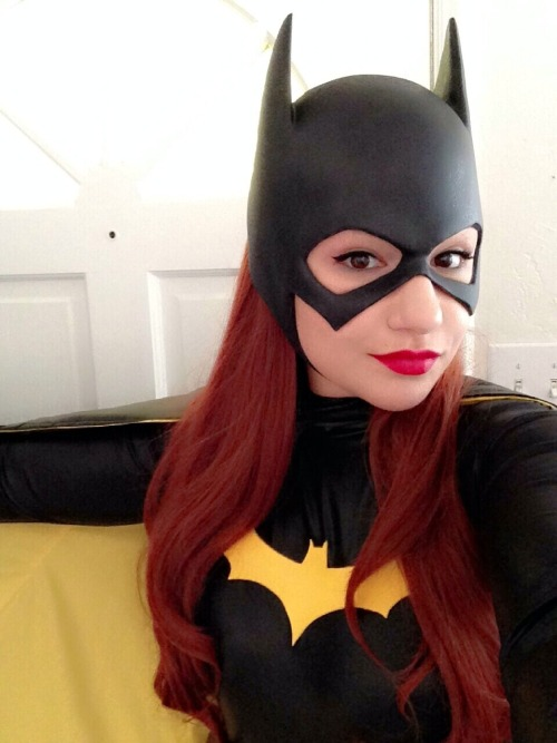 kisstini:  Batgirl cosplay! Cowl and Belt by Reevz FX Cape by @Marsicistic