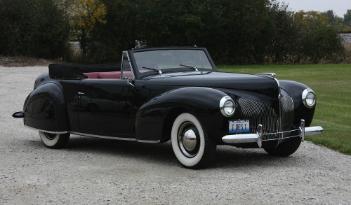 Lincoln Continental Cabriolet 1941