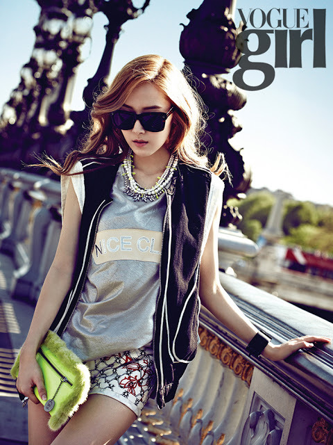 SNSD: Jessica - Vogue Girl Magazine Photos (1)