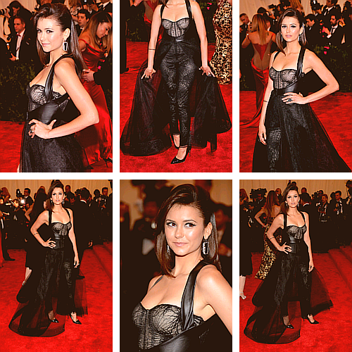 "Nina Dobrev - ""PUNK: Chaos To Couture"" Costume Institute Gala [May 6, 2013]"