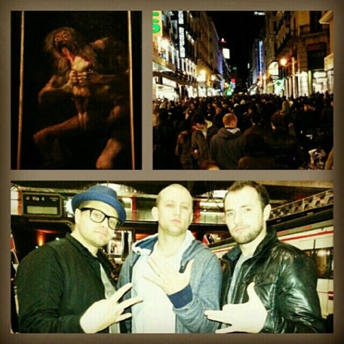 Had a great time in #Madrid seeing my homie Brian and #Saturn by #FranciscoDeGoya. @bpickup3 @bboysloth  #EuroTrip #Spain #Art #Culture #BBoy #GHC #GHODT #MakingMemories #GoodLife  (at Newark Liberty International Airport (EWR))