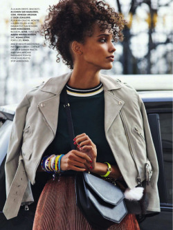 iowntherunway:   Macadam Princess Cora Emmanuel by Simon Burstall for ELLE France April 2013 See more from this set here