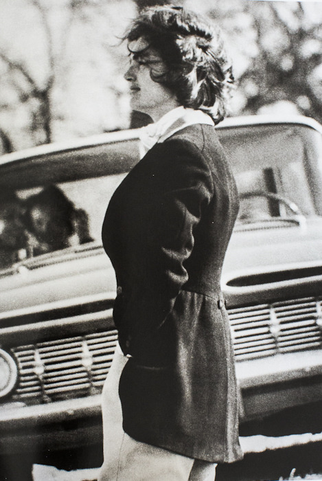 Jackie Kennedy in 1961 courtesy of Bettmann / Corbis.