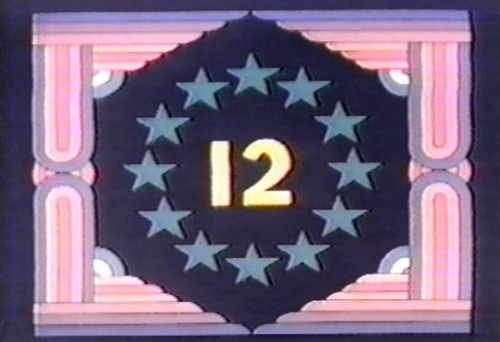 sesamestreet:  Today is brought to you by the number 12. (There's even a theme song.)  12 nanaman!
