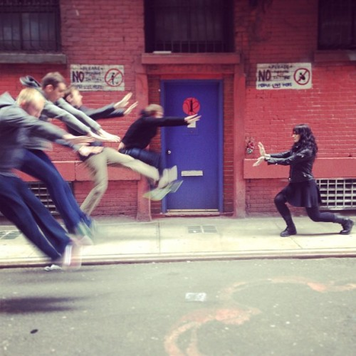 @foursquare Design Team HADOUKEN! (at Foursquare HQ)