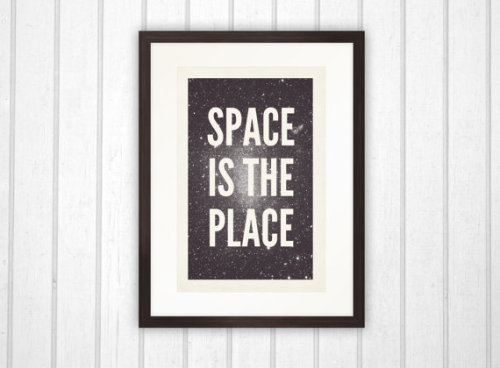 visualgraphic:  Space is the place by Choice Cuts