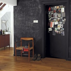 myidealhome:  B is for blackboard