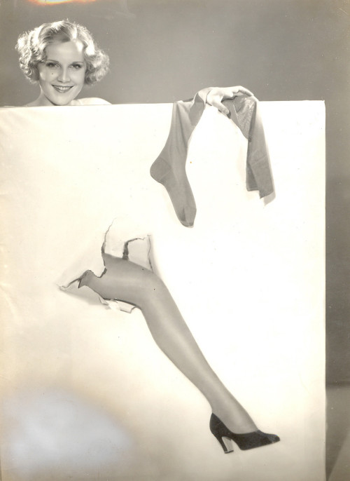 Manasse Pin Up Photo from The 1930s