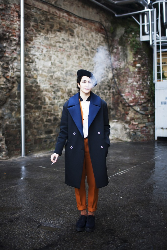 womensweardaily:  They Are Wearing: Pitti Uomo Photo by Kuba Dabrowski