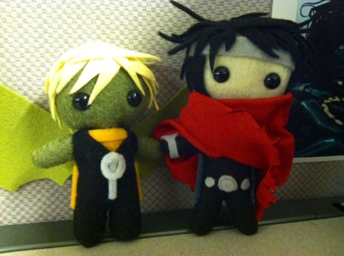 animinis:  Hulkling and Wiccan, together at last <33  @llou13 — They are awaiting your return, so we hope you come back soon :D