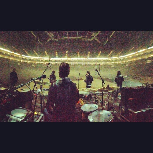 themaccabees:  London o2. On stage 8pm tonight