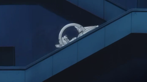 oneokrydon:  haibara-yuuya:  HES RIDING HIS FUCKIN MOTORCYCLE UP THE STAIRS WHAT THE FUCK EVER  CARD GAMES ON MOTORCYCLES ON STAIRS!
