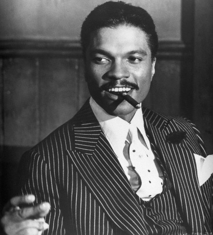 vintageblackglamour:  You didn't think I forgot Billy Dee Williams's 76th birthday today did you? No, of course you didn't! Mr. Williams is still acting, still writing, still painting and still fine today and, if you can't name the film this photo is from, I am going to shed real tears… of laughter. :) Photo: Bettman/Corbis.