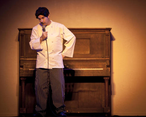 Paul F. Tompkins as Cake Boss by Liezl Estipona (via @SFSketchfest)