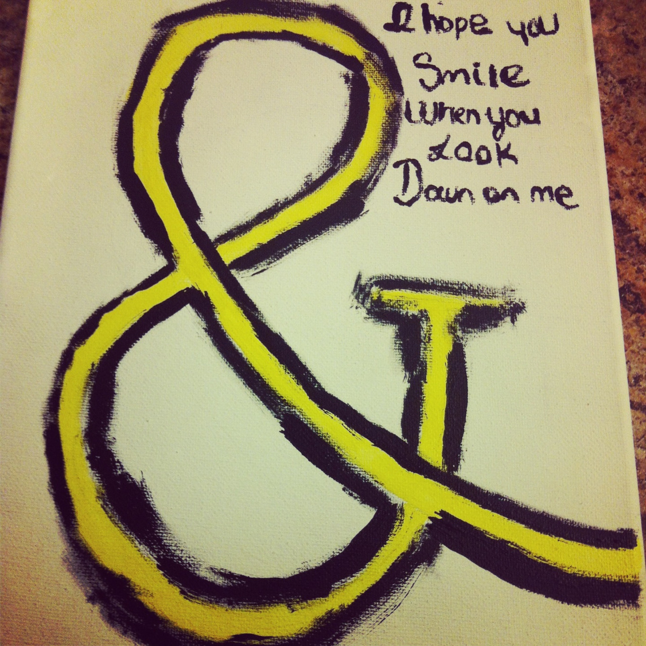 justkeeepbreathing:  My painting :)