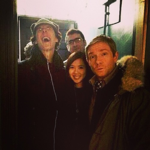 Benedict Cumberbatch being adorkable as ever. (x)