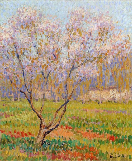 Trees in Bloom Henri Martin