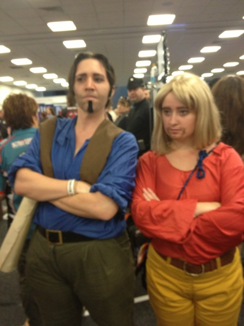Miguel and Tulio. Tulio and Miguel. Mighty and powerful gods.