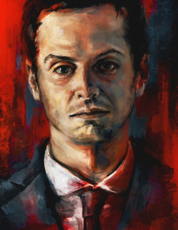 OH Moriarty, you so pretty, but that stare does get creepy at 3AM