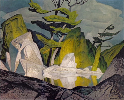 A.J, Casson, Rock Pool