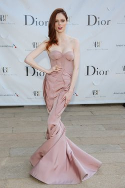 mirnah:  Coco Rocha wore Zac Posen at the American Ballet Theatre's Opening Night Gala in New York.