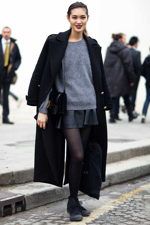thebearbonesofit:  Chiharu Okunugi off-duty in Paris