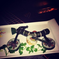 Sushi Time! :D delicious, this is my favorite bike