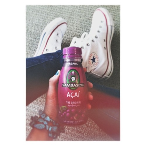 Fresh kicks and my favorite, Acai'