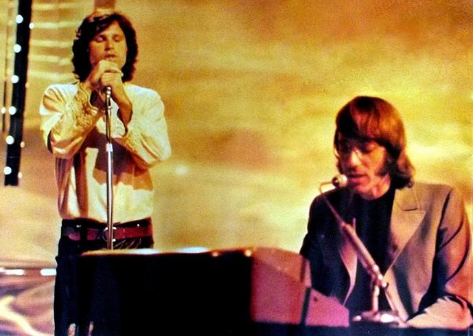"©1968 BBCThe Doors on ""Top of the Pops""London On the keyboards and on to the eons. Love always, Ray."