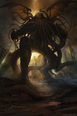 adaydrawsnigh:  DVG Cthulhu by ~cloudminedesign