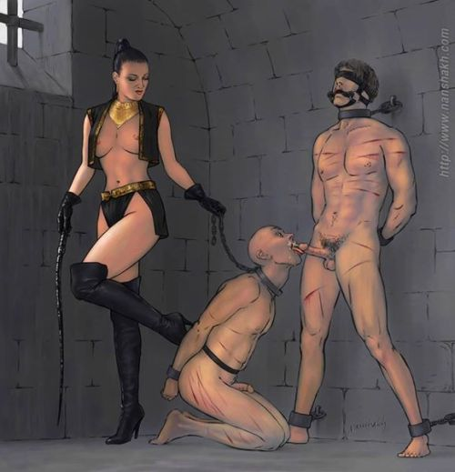 Femdom female domination art